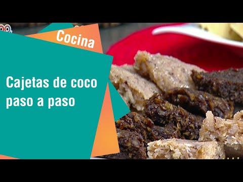 Las insuperables cajetas de coco paso a paso | Cocina