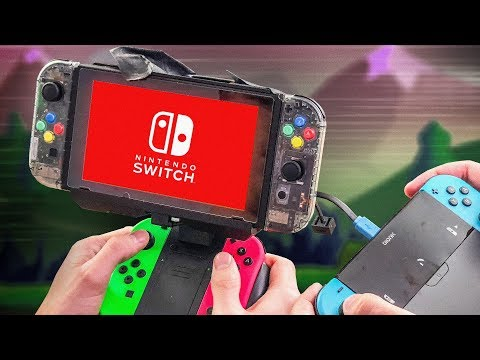 connectYoutube - Building the Ultimate Nintendo Switch