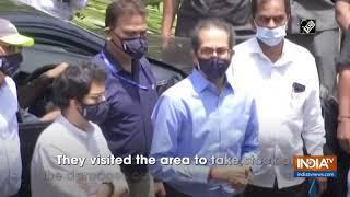 Cyclone Nisarga: Maha CM Uddhav Thackeray visits Alibaug - INDIATV