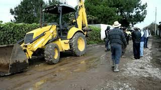 Familias afectadas por fuertes lluvias en Chimaltenango
