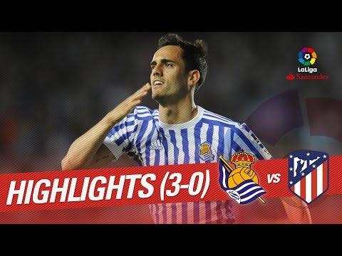 Resumen de Real Sociedad vs Atlético de Madrid (3-0)