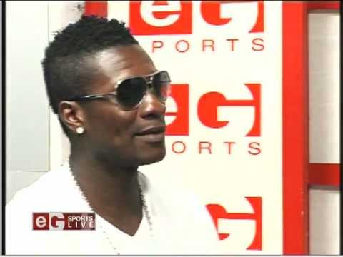 Video: Asamoah Gyan talks about his decision to leave Sunderland