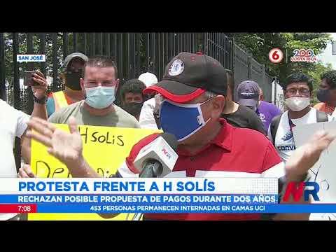 Extrabajadores de H. Solís reclaman el pago de su liquidación laboral