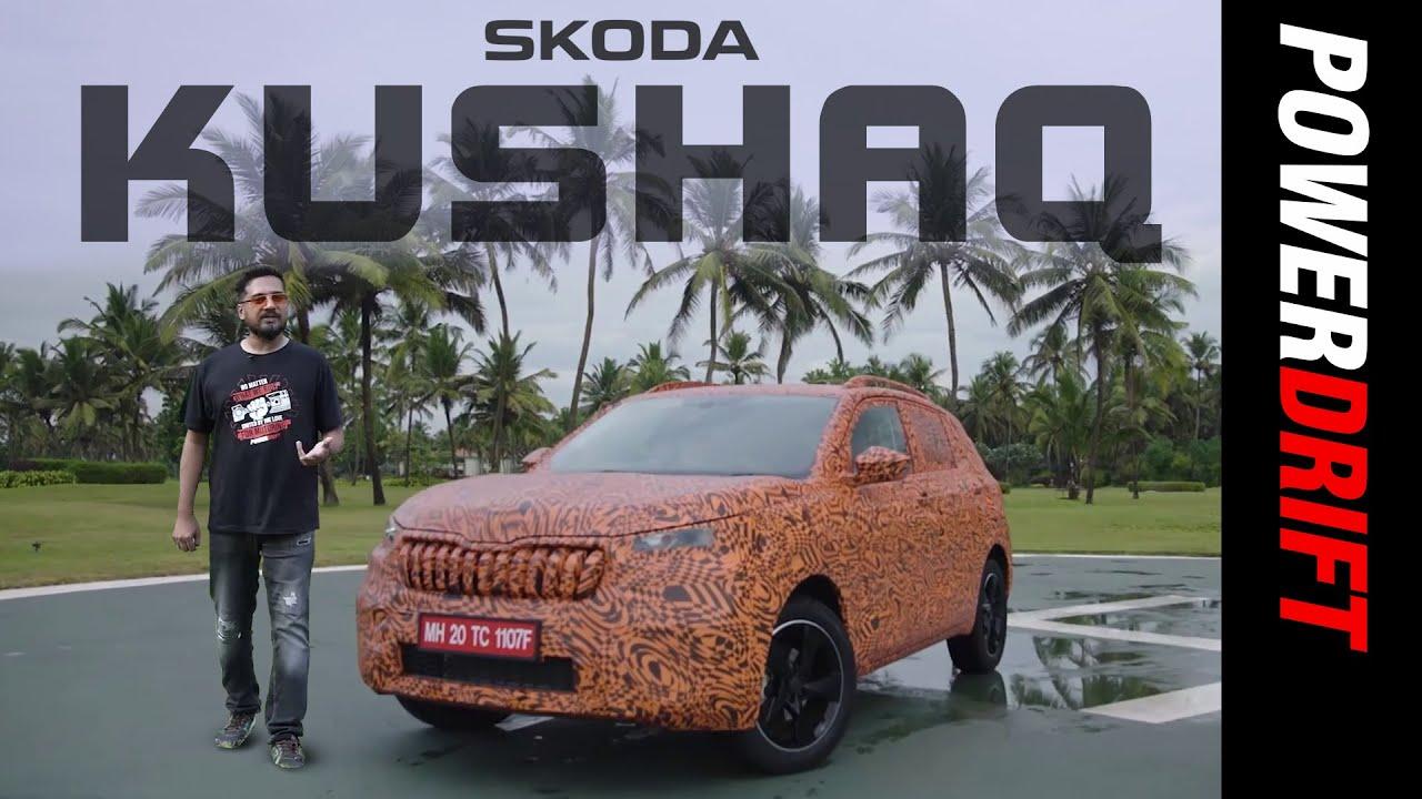 Skoda Kushaq | Skoda's Newest SUV Previewed! | PowerDrift