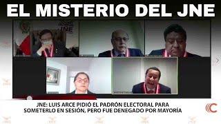 EL MISTERIO DEL JNE