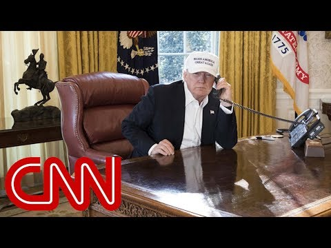 Twitter mocks President Trump's shutdown photo