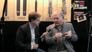 Josephson SPB40 Baffle for the C617s - Interview at AES 2011