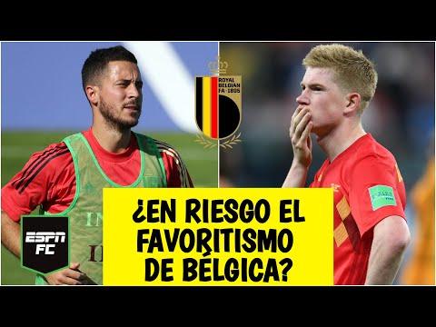EURO 2020 Tiembla Bélgica vs Rusia: No puede contar con Kevin De Bruyne. Hazard, en duda   ESPN FC