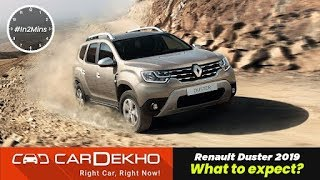 Renault Duster 2019 What to expect? | Interior, Features, Automatic and more!