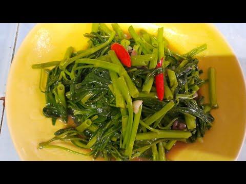 ผัดผักบุ้งเมนูง่ายๆ-อร่อยแน่นอ