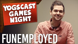 GAMES NIGHT: Funemployed - Space Scissoring (Board Games!)