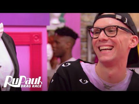 Sasha Gets Ready for Snatch Game | RuPaul's Drag Race Season 9 | VH1