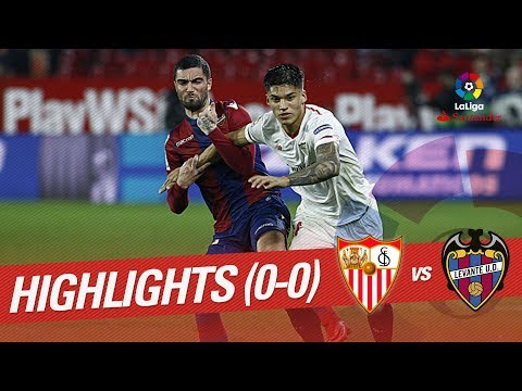 Resumen de Sevilla FC vs Levante UD (0-0)