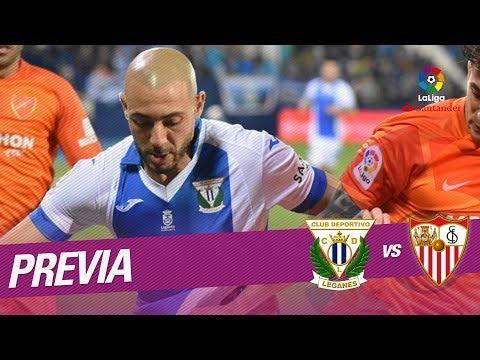 Previa CD Leganés vs Sevilla FC