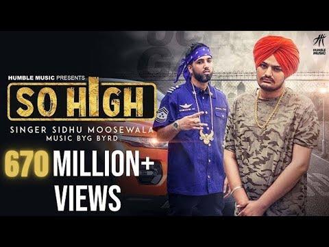 So High-Sidhu Moose HD Video Song