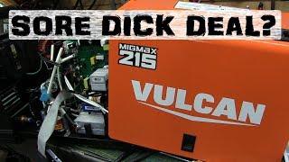 BOLTR: Vulcan MIG 215 | Harbor Freight Welder