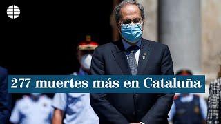 Cataluña aflora 277 nuevas muertes por coronavirus y ahonda en el caos de cifras