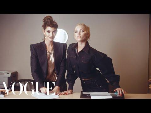 Workin' 9 to 5: Inside the Vogue Office! ft. Kate Upton, Elsa Hosk, Joan Smalls & More   Vogue