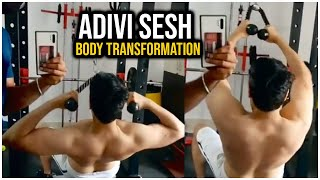 AdiviSesh Prepping out in gym for #MajorTheFilm | TFPC - TFPC