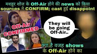 Off-Air CONFIRMED | Maahoor shows ka Off-Air hona hua confirm; sources ne kiya reveal ali karan - TELLYCHAKKAR