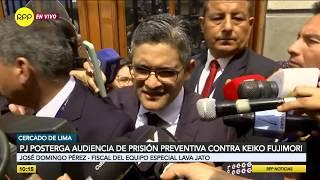 """José Domingo Pérez: """"Confiamos en que juez dará prisión preventiva para Keiko Fujimori"""""""