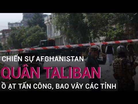 Chin s Afghanistan: Taliban  t tn công, sân bay trng yu Kandahar b hng nng | VTC Now