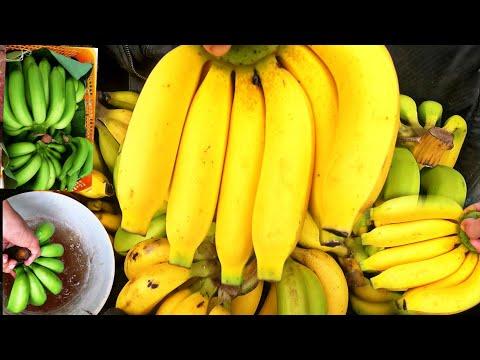 วิธีบ่มกล้วยหอมให้สุกเหลืองสวย