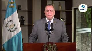 #EnDirecto   Mensaje del presidente Alejandro Giammattei sobre la Ley Antitrámites y las reforma...