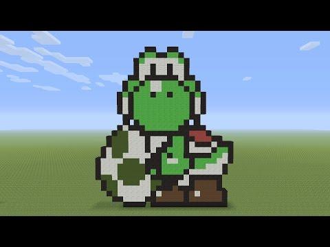 Snap Minecraft Pixel Art Mcdonald S Happy Meal Mushroom Head Youtube