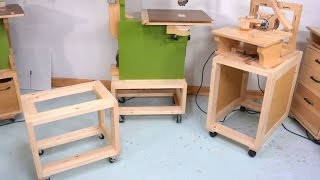 Mobile tool stands