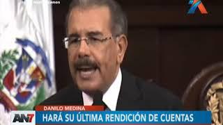 Presidente Medina entregará su última rendición de cuentas