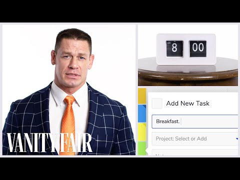 Everything John Cena Does in a Day | Vanity Fair
