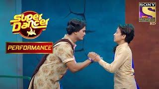 Akash और Vivek ने दिखाया मजबूरियों का बोझ   Super Dancer Chapter 2 - SETINDIA