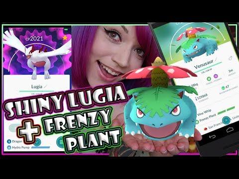 connectYoutube - SHINY LUGIA + FRENZY PLANT COMMUNITY DAY POKEMON GO NEWS!!!