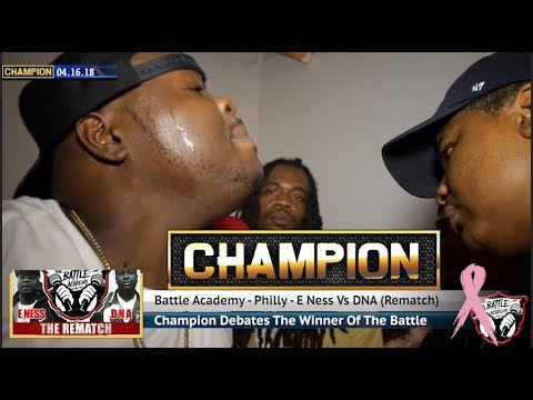CHAMPION | E.Ness Vs. DNA (The Rematch) - The Battle Academy
