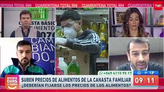Alcaldes de Cerro Navia y Estación Central piden fijar precios de alimentos | Buenos días a todos