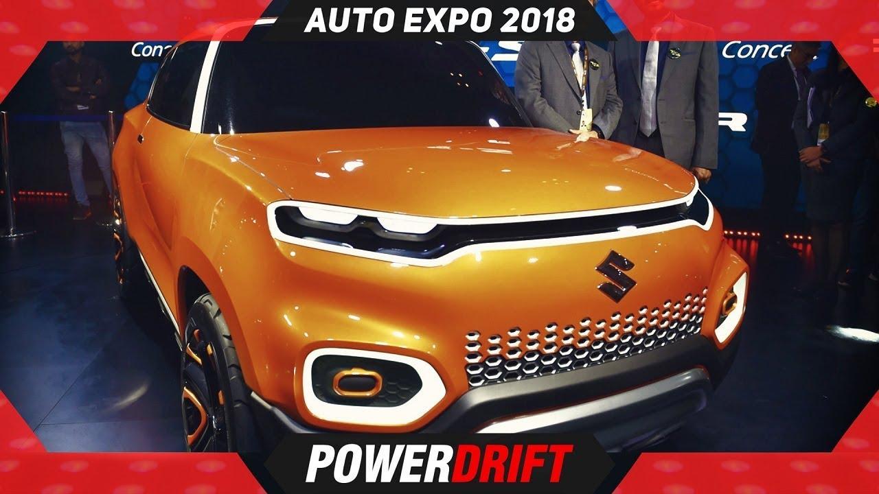2018 Maruti Future S @ AutoExpo : Maruti In 2020 : PowerDrift