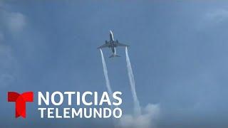 Sale a la luz audio de piloto que derramó combustible sobre varias escuelas   Noticias Telemundo