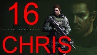 Resident Evil 6 walkthrough - part 16 HD Chris walkthrough gameplay RE6 Full Game walkthrough