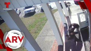 Feligreses salvan una misa casi de milagro en Carolina del Norte   Al Rojo Vivo   Telemundo