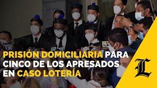 Camacho dice que MP pidió prisión domiciliaria para cinco de los apresados en caso Lotería