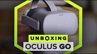 Unboxing the Oculus Go