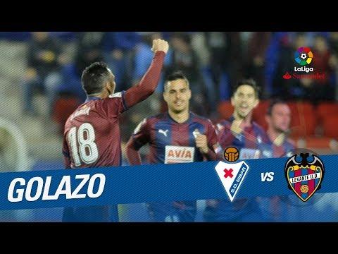 Golazo de Arbilla (1-2) SD Eibar vs Levante UD