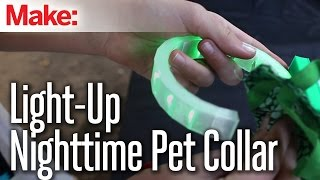 Light-Up Nighttime Pet Collar