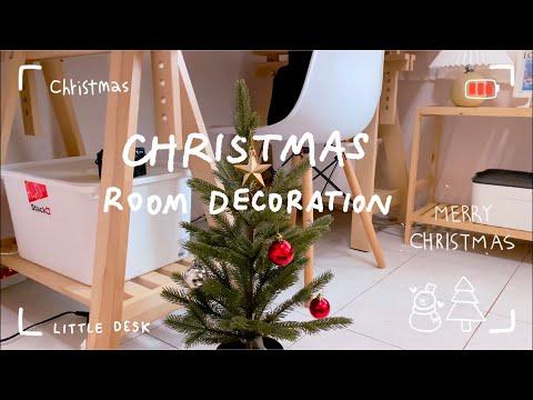 Vlogmas-|-Christmas-room-decor