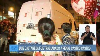 Luis Castañeda Lossio: trasladan al exalcalde de Lima al penal Miguel Castro Castro