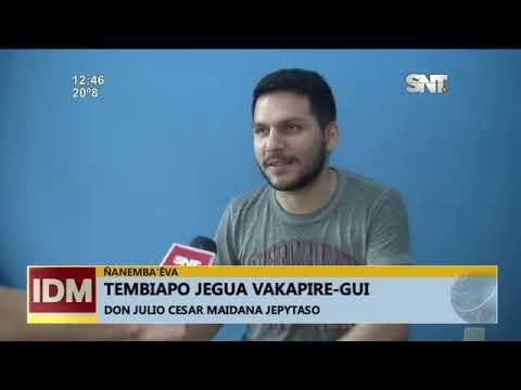 Ñanemba'éva: Tembiapo jegua vakapire-gui