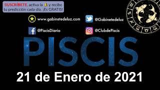 Horóscopo Diario - Piscis - 21 de Enero de 2021.