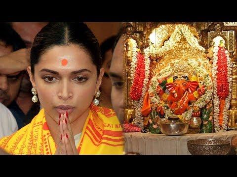 Deepika Padukone PRAYS For Padmaavat Success at Siddhivinayak Temple in Mumbai