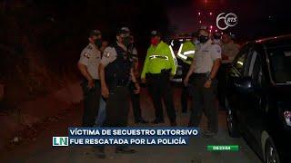 Frustran un secuestro extorsivo al noroeste de Guayaquil